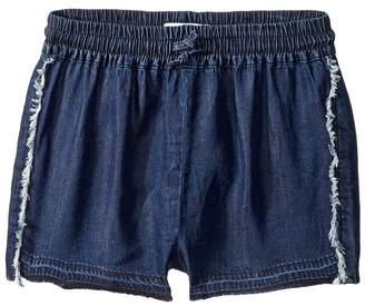 DL1961 Kids Dark Wash Jog Shorts Girl's Shorts