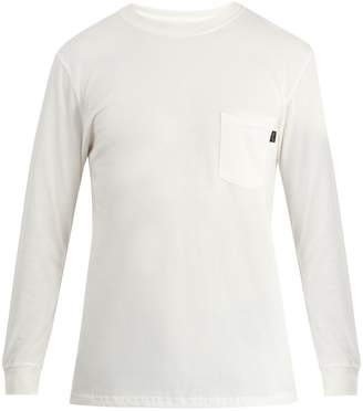 A BRILLIANT BRAND Save The Planet long-sleeved cotton T-shirt