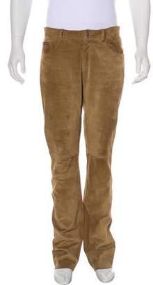 Dolce & Gabbana Calf Leather Pants