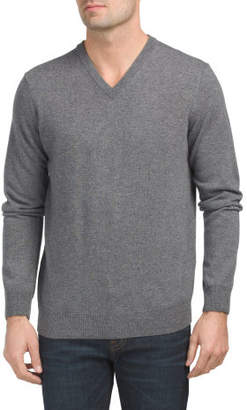 Made In Italy V-neck Cashmere Sweater
