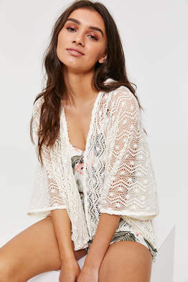 Ardene Sheer Crochet kimono