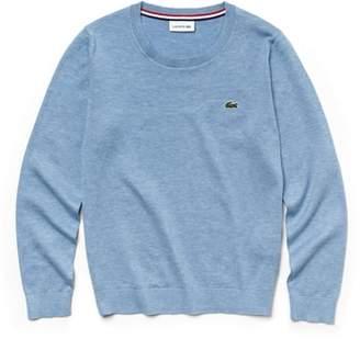 Lacoste Classic Jersey Crewneck Sweater