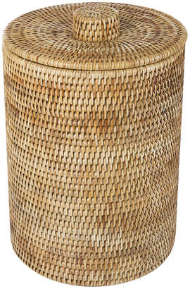 Rattan Waste Basket with Plastic Lining