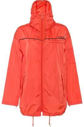 Prada Nylon gabardine hooded jacket