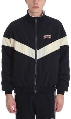 Represent REPRESENT Shell Black Nylon Jacket