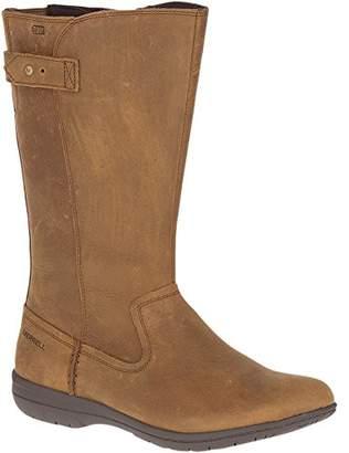 Merrell Women's Encore Kassie Tall Waterproof Fashion Boot tan