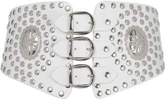 Jonathan Simkhai Studded Buckle Waist Belt