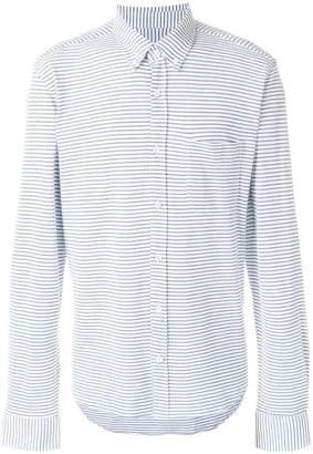 Orlebar Brown striped chest pocket shirt