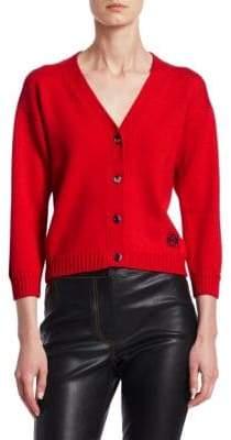 Loewe Short Wool Cardigan