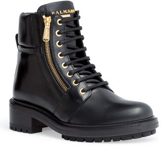 Balmain Army Ranger 40 black lace-up boots