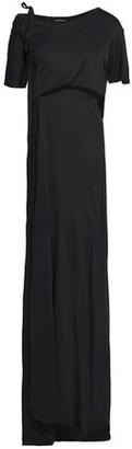 Ann Demeulemeester Draped Stretch-Jersey Maxi Dress