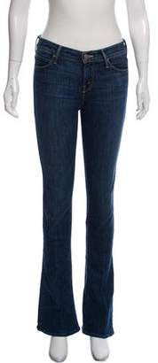 Mother Low-Rise Wide-Leg Jeans