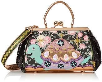 Irregular Choice Womens Jus Sayin Bag Top-Handle Bag