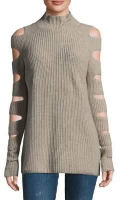 Zoe Jordan Raglan Sleeves Sweater