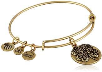 Alex and Ani Four Leaf Clover III Expandable Bangle Bracelet