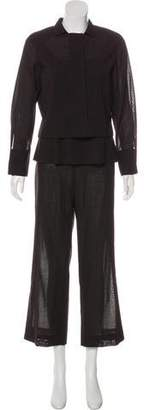 Akris Wool Three-Piece Suit