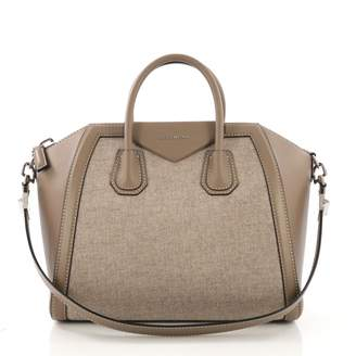 4e125afae7 Givenchy Antigona Brown Cloth Handbag