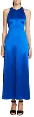 Jill Stuart Solid Midi-Length Dress