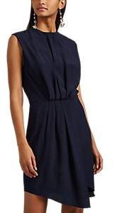 L'Agence Women's Cipriana Silk Shirtdress - Dk. Blue