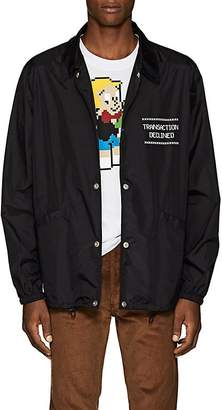"Maison Margiela Men's ""Transaction Declined"" Coach's Jacket"