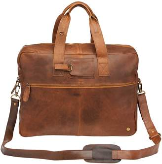 d0e888ecd5a6 MAHI Leather - Classic Leather Holdall In Vintage Brown