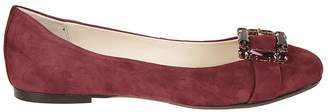 Anna Baiguera Embellished Slippers