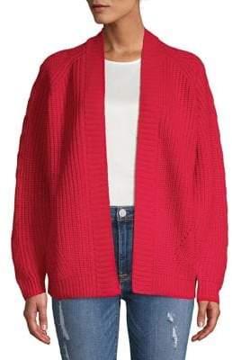 Dorothy Perkins Open Front Split Long-Sleeve Sweater