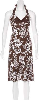 Michael Kors Floral Midi Dress