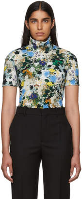 Erdem Multicolor Floral Sallie Turtleneck