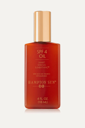 Hampton Sun Spf4 Oil, 118ml - Colorless