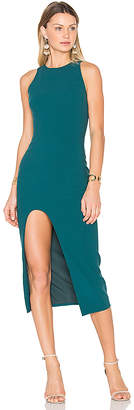 Cinq a Sept Eve Dress in Teal $395 thestylecure.com