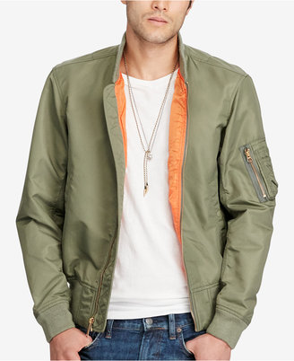 Denim & Supply Ralph Lauren Men's Bomber Jacket $225 thestylecure.com