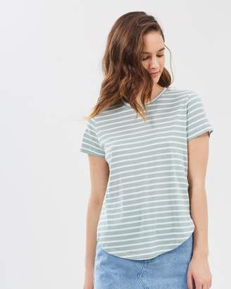 Nude Lucy Collins Button Detail Tee