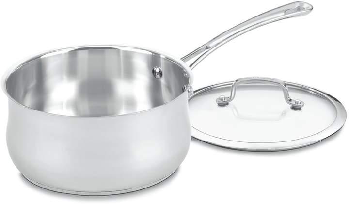 CuisinartCuisinart Contour 3-qt. Stainless Steel Saucepan