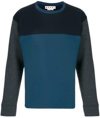 Marni colourblock jumper