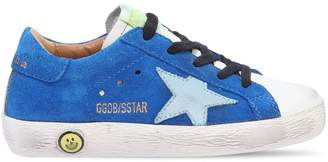 Golden Goose Super Star Suede & Leather Sneakers