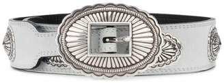 Kate Cate engraved plaques belt