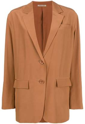 Bottega Veneta oversize single-breasted blazer