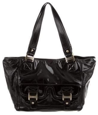 MICHAEL Michael Kors Patent Leather Shoulder Bag