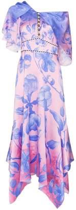Peter Pilotto floral print midi dress
