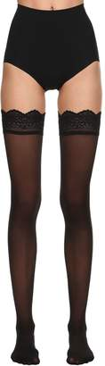 Wolford Velvet Light 40 Stay-Up Thigh Highs