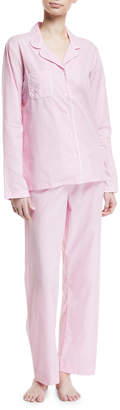 Derek Rose Amalfi Cotton Pajama Set