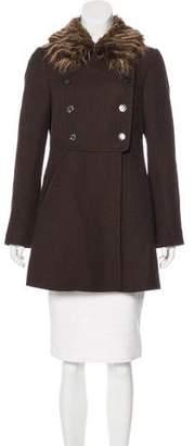 Rebecca Taylor Wool Short Coat