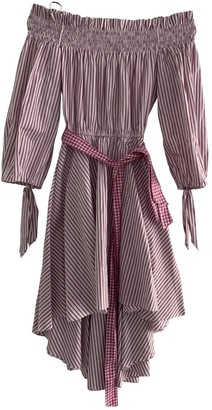 Caroline Constas Pink Cotton Dress for Women