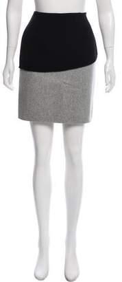 CNC Costume National Mini Wool Skirt