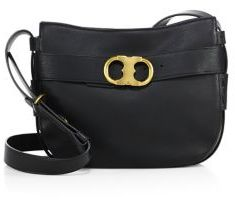 Tory Burch Gemini Link Leather Crossbody Bag $495 thestylecure.com