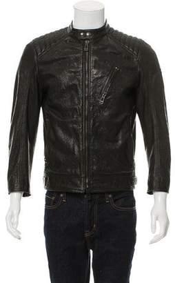 Belstaff Textured Leather Jacket