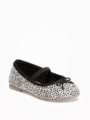 Old Navy Leopard-Print Ballet Flats for Toddler Girls & Baby