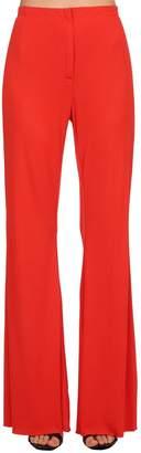 Marni Flared Crepe Jersey Pants