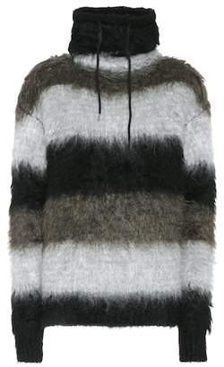 Oversized mohair-blend sweater
